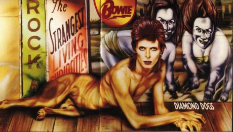 Diamond Dogs full spread eagled cover