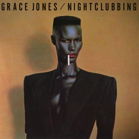 Grace Jones Nightclubbing LP sleeve art