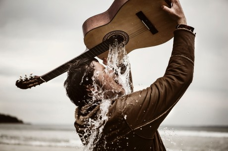 Hayden Calnin Guitar With Water
