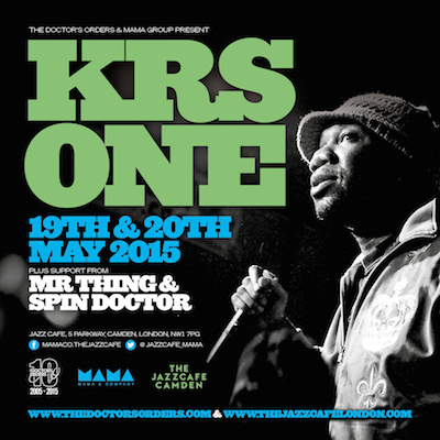 KRS - One at the Jazz Cafe