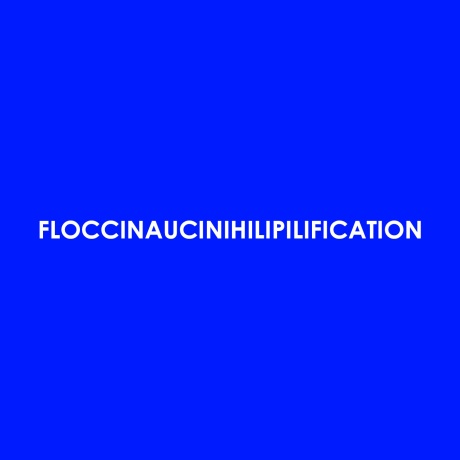 Retoryka 'Floccinaucinihilipilification EP